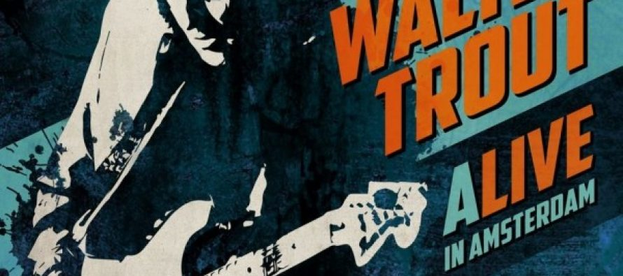 Albumrecensie: Walter Trout – ALIVE In Amsterdam (live)